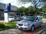 2005 Satin Silver Metallic Acura TSX Sedan #15972652
