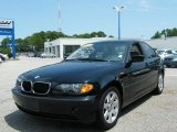2002 Jet Black BMW 3 Series 325i Sedan #15965034