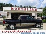 2003 Black Chevrolet Silverado 1500 LS Extended Cab 4x4 #15966409