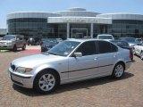 2004 Titanium Silver Metallic BMW 3 Series 325i Sedan #15973143