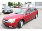 2005 Sport Red Metallic Chevrolet Malibu Maxx LT Wagon #15976209