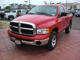 2005 Flame Red Dodge Ram 1500 ST Regular Cab 4x4 #15974635