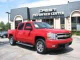 2007 Victory Red Chevrolet Silverado 1500 LTZ Crew Cab 4x4 #15973366