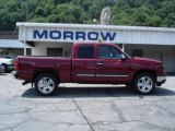 2007 Sport Red Metallic Chevrolet Silverado 1500 Classic LS Extended Cab 4x4 #15964631