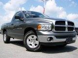 2005 Mineral Gray Metallic Dodge Ram 1500 SLT Regular Cab #15959249