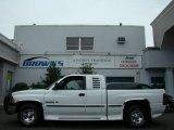 1998 Bright White Dodge Ram 1500 Laramie SLT Extended Cab #15959594