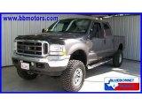 2004 Dark Shadow Grey Metallic Ford F250 Super Duty Lariat Crew Cab 4x4 #15975680