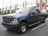 2004 Medium Wedgewood Blue Metallic Ford F250 Super Duty XL Crew Cab 4x4 #15973716