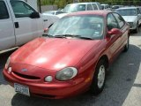 1997 Toreador Red Metallic Ford Taurus GL #1533597