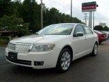 2008 White Suede Lincoln MKZ Sedan #15967105