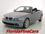 2004 Silver Grey Metallic BMW 3 Series 330i Convertible #16022418