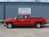 2007 Victory Red Chevrolet Silverado 1500 Classic LS Extended Cab #16032904