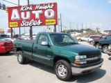 2000 Meadow Green Metallic Chevrolet Silverado 1500 LS Regular Cab 4x4 #16023151