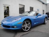 2008 Jetstream Blue Metallic Chevrolet Corvette Convertible #16019299