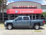 2008 Blue Granite Metallic Chevrolet Silverado 1500 LT Crew Cab #16021095