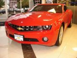 2010 Victory Red Chevrolet Camaro LT Coupe #16015265