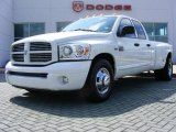 2007 Bright White Dodge Ram 3500 Sport Quad Cab 4x4 Dually #16025786
