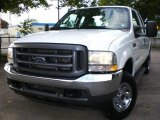 2004 Oxford White Ford F250 Super Duty XLT SuperCab 4x4 #1530676