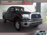 2008 Timberland Green Mica Toyota Tundra Double Cab 4x4 #16111451