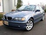 2005 Steel Blue Metallic BMW 3 Series 325i Sedan #1607254