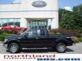 2010 Tuxedo Black Ford F150 XLT SuperCab 4x4 #16123028