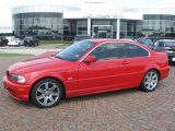 2003 Electric Red BMW 3 Series 325i Coupe #16110098