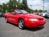 Rio Red Ford Mustang in 1994