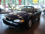 1995 Black Ford Mustang GT Convertible #16150554