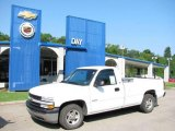 2002 Summit White Chevrolet Silverado 1500 Work Truck Regular Cab #16100302