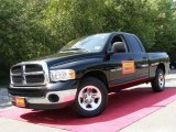 2004 Black Dodge Ram 1500 SLT Quad Cab #16104746