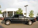 2003 Black Chevrolet Silverado 1500 Extended Cab 4x4 #16111953