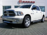 2009 Stone White Dodge Ram 1500 Big Horn Edition Crew Cab #16103977