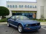 2007 Vista Blue Metallic Ford Mustang V6 Premium Coupe #16101070