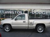 2004 Silver Birch Metallic Chevrolet Silverado 1500 LS Regular Cab #16113175