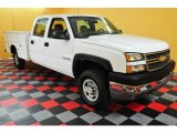 2005 Chevrolet Silverado 2500HD Work Truck Crew Cab Chassis Utility Data, Info and Specs