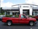 2006 Victory Red Chevrolet Silverado 1500 Work Truck Regular Cab #16104647