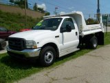 2002 Ford F350 Super Duty XL Regular Cab Chassis Dump Truck Data, Info and Specs