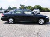 2002 Nighthawk Black Pearl Honda Accord EX Sedan #16094611
