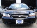 2002 Nighthawk Black Pearl Honda Accord EX-L Sedan #16106752