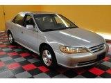 2002 Satin Silver Metallic Honda Accord EX V6 Sedan #16110126