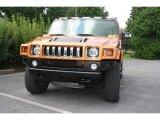 2006 Fusion Orange Hummer H2 SUT #16134197