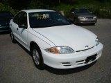 2002 Bright White Chevrolet Cavalier Sedan #16222025