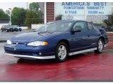 2003 Superior Blue Metallic Chevrolet Monte Carlo SS Jeff Gordon Signature Edition #16219561