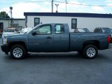 2007 Blue Granite Metallic Chevrolet Silverado 1500 Work Truck Extended Cab #16226490