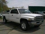 2001 Bright White Dodge Ram 1500 ST Club Cab 4x4 #16221569