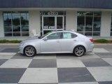 2008 Tungsten Silver Pearl Lexus IS 250 #16226146