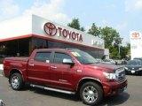 2007 Salsa Red Pearl Toyota Tundra Limited CrewMax 4x4 #16221917