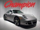 2007 Arctic Silver Metallic Porsche 911 Turbo Coupe #16214358