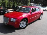 2008 Inferno Red Crystal Pearl Chrysler 300 LX #16213846