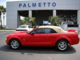 2006 Torch Red Ford Mustang V6 Premium Convertible #16225225